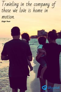 Traveling in the company of those we love is home in motion.